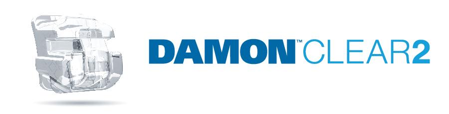 Mắc cài sứ tự khóa Damon clear 2
