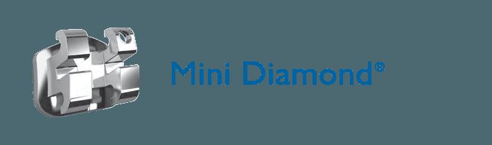 Mắc cài kim loại Mini Diamond