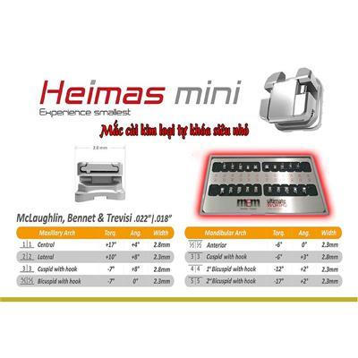 Mắc cài tự khóa Heimas mini